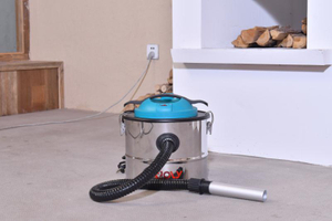 RL166 stainless steel ash vacuum cleaner